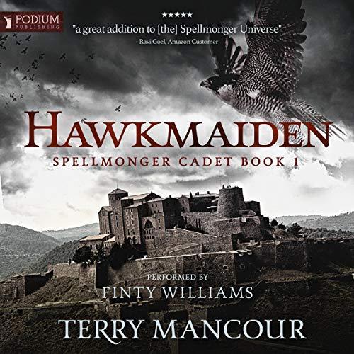 Hawkmaiden Spellmonger Cadet Book Cover